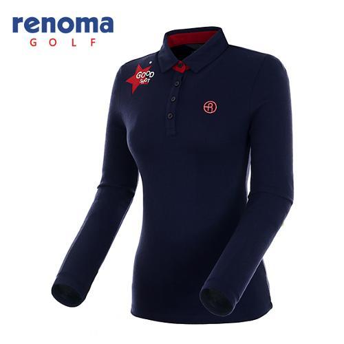[레노마골프]여성 소프트 터치 기모 티셔츠 RWTYF8104-120