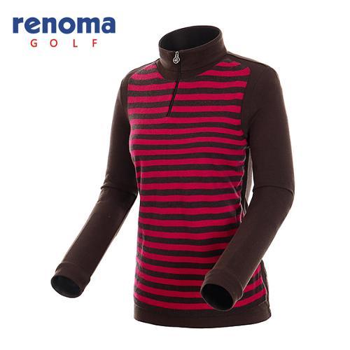 [레노마골프]여성 오버레이 반집업 티셔츠 RATS77461-BR