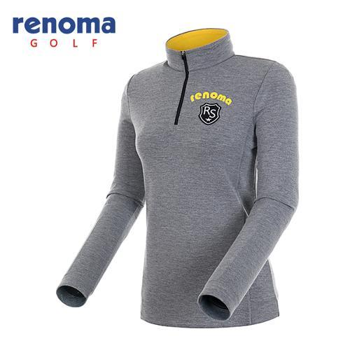 [레노마골프]여성 와펜 로고 반집업 티셔츠 RATS76561-MG