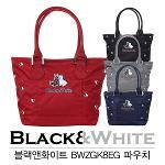 [마스터스인터내셔널정품]BLACK&WHITE 블랙앤화이트 BWZGK8EG 파우치백