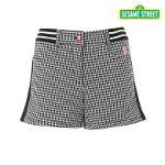 [세서미] 여성 하운드투스 체크 패턴 숏팬츠(S6WLPT608-BK)