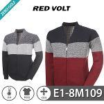 [RED VOLT] 레드볼트 오픈 풀집업 니트 자켓 Model No_E1-8M109