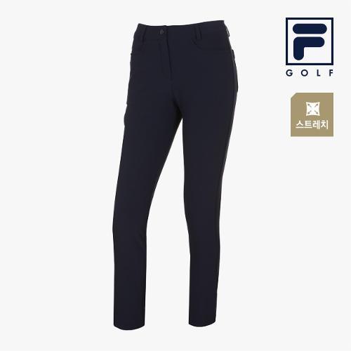 [FILA GOLF] 여성 포켓 지퍼포인트 스트레치팬츠 FG2PTA3701F-NAY_GA