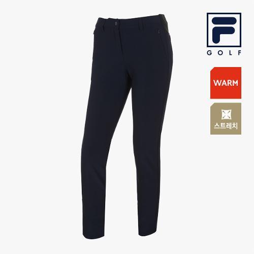[FILA GOLF] 여성 사이드밴딩 포인트 스트레치팬츠 FG2PTA4902F-NAY_GA