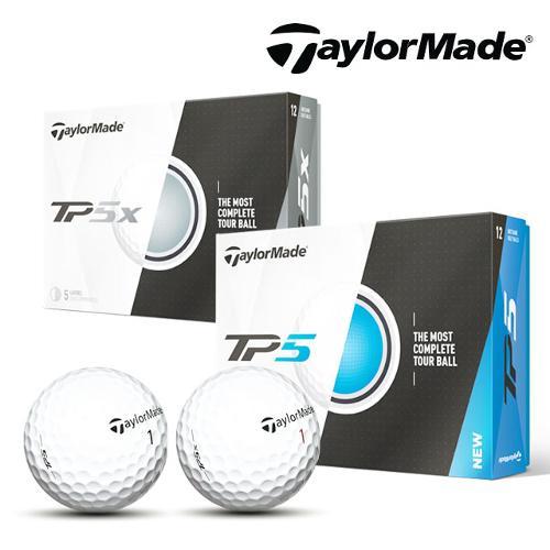테일러메이드코리아 TP5/TP5X 5피스 골프공 2종택1