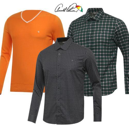 [아놀드파마] FW시즌 데일리 남성 긴팔 셔츠/니트 특가 6종 택1/골프웨어_242099