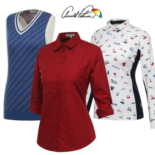 [아놀드파마] FW시즌 데일리 여성 긴팔티셔츠/니트 조끼 특가 3종 택1/골프웨어_242096