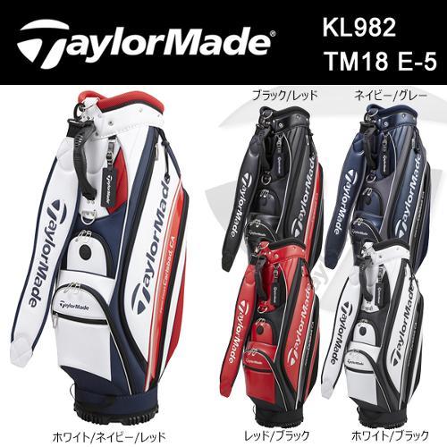 [해외구매대행] 테일러메이드 골프 TM18 E-5 KL982 카트 캐디백 TaylorMade 2MSCB-KL982 캐디백