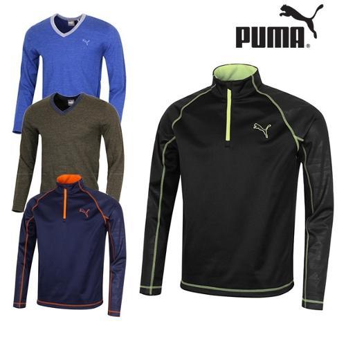 푸마 FW 남성 골프 티셔츠&니트 572149 572108 골프웨어
