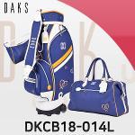 닥스 DKCB18-014L 바퀴형 캐디백세트 골프백세트 여성