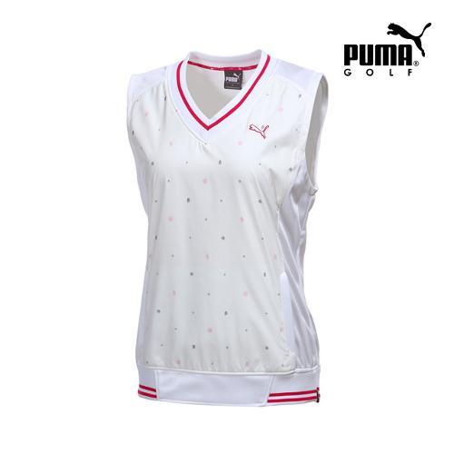 [푸마골프] 여성 무늬 포인트 베스트 923364-03_GA