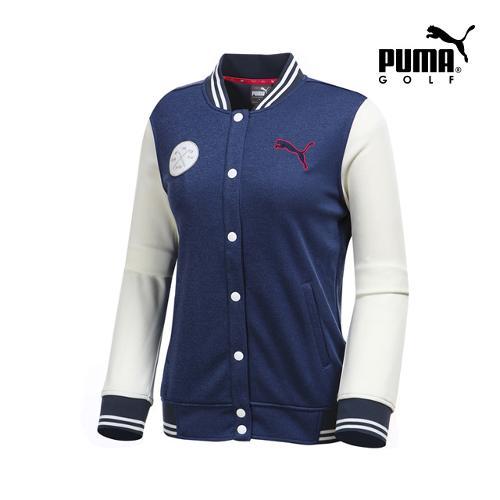 [푸마골프] 여성 배색 포인트 자켓 923363-01_GA