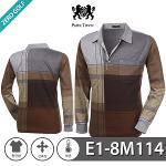 [PARK TOWN] 파크타운 포켓 패턴 카라 티셔츠 Model No_E1-8M114