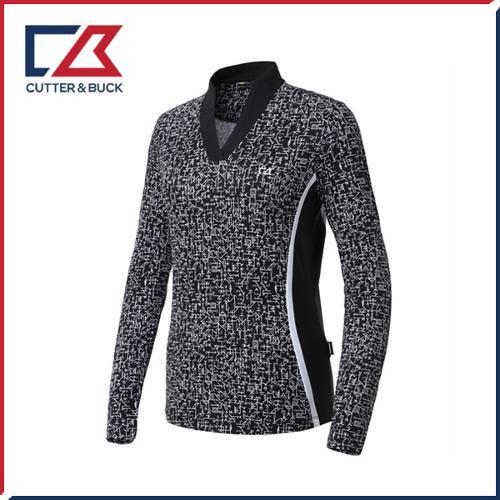 커터앤벅 여성 스판 긴팔티셔츠 - PB-11-191-201-01