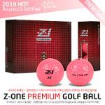 (19 HOT) Z1 제트원 프리미엄 3피스 컬러 골프볼