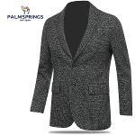 [팜스프링스] 배색 잔체크 패턴 남성 캐쥬얼 자켓/골프웨어_242188