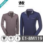 [PARK TOWN] 파크타운 포인트 포켓 하프집업 기모 티셔츠 Model No_E1-8M119