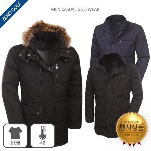 [쟌피엘] 올 겨울 든든하게 챙겨입자 덕다운 코트/패딩 자켓 3종 택일