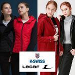 KSWISS 르까프 여성 패딩 트랙수트 자켓,팬츠