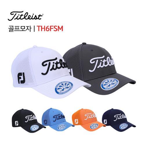 [타이틀리스트] 스포츠 메쉬 골프 캡 모자 TH6FSM