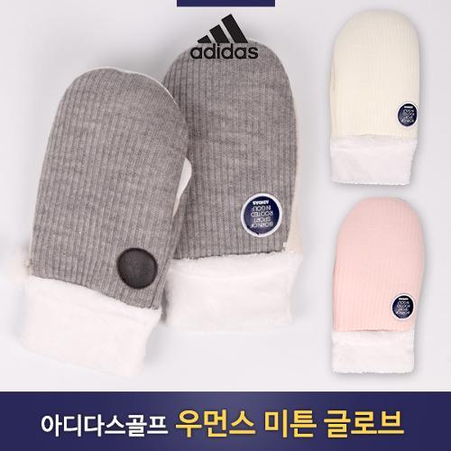 [아디다스골프] 2018 우먼스 방한 벙어리장갑/미튼 글로브