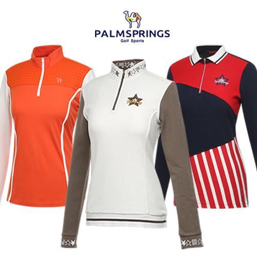 [팜스프링스] 겨울에 입기좋은 여성 긴팔티셔츠 균일가 4종 택1/골프웨어_242745