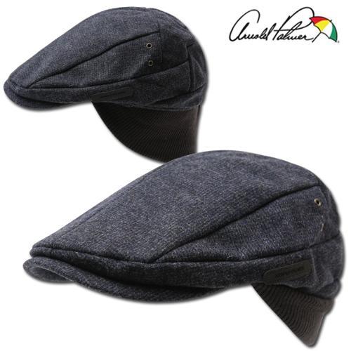 [아놀드파마] 보온 니트 귀달이 남성 방한 모자/헌팅캡 모자/골프모자_242779