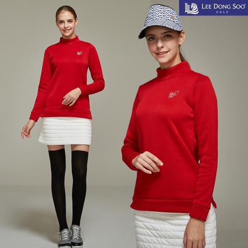 [이동수] 여성 골프 니트 티셔츠 레드