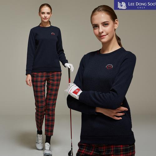 [이동수] 여성 골프 니트 티셔츠 네이비