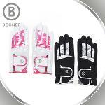 보그너 BOGNER 여성 최고급 배색 양피 골프장갑 - BN-01-183-216-02