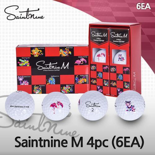 세인트나인 Saintnine M 4피스 우레탄 골프공(6EA)