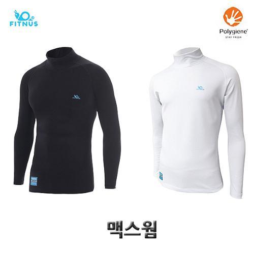 휘너스 맥스웜 기능성 기모스판 티셔츠 겨울용
