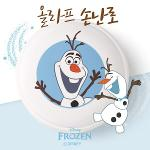 [디즈니 공식] 겨울왕국 프로즌 올라프 충전식 휴대용 손난로 보조배터리 5400m Ah