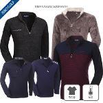 [파크타운 外] 보온성과 활동성 둘 다 좋은 겨울 PK 기모안감 골프티셔츠 6종 택일