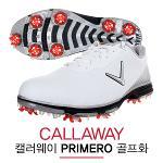 캘러웨이코리아정품 PRIMERO 프리메로 천연소가죽 남성용 골프화(MCG200WHT)+신발주머니