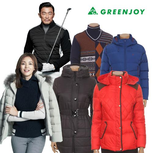 GREENJOY[그린조이] 겨울 남/여 BEST 골프의류 모음전