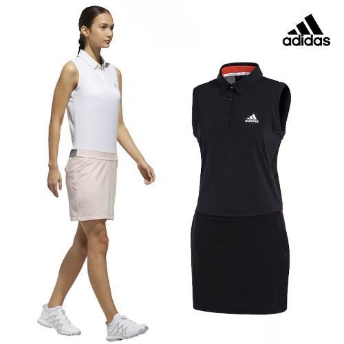 아디다스 SS 여성 클라이마쿨 드레스_CW1517_골프웨어 골프의류 ADIDAS W GOLF DRESS