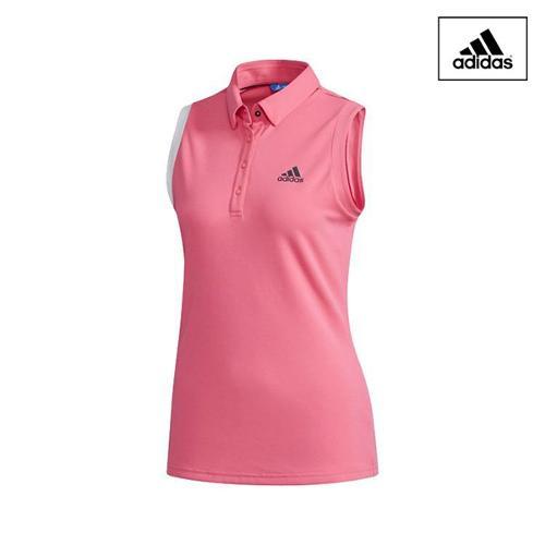 아디다스 SS 여성 민소매 폴로 티셔츠_CV8754_골프웨어 골프의류 ADIDAS W GOLF SHIRT
