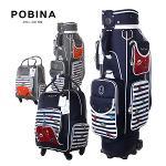 [2019년신제품-국내산]포비나 골프 C-PB7019 폴리에스터원단 핸드케리어 캐디백+핸드케리어 보스톤백세트