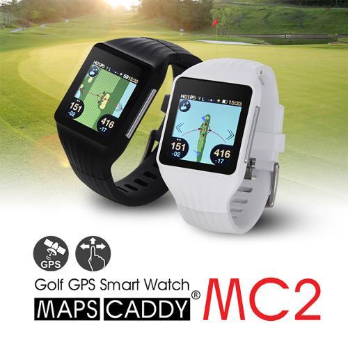 맵스캐디 MC2 터치스크린 시계형 GPS 거리측정기