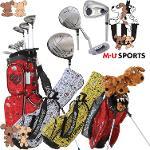 [해외구매대행] MU SPORTS MU 스포츠 703V4900 여성 골프 하프 클럽 8 개세트 스탠드 캐디백포함