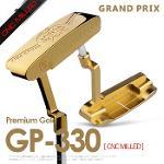 그랑프리 정품 프리미엄 골드 GP-330 CNC MILLED 일자형 퍼터