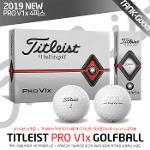 (19 NEW) 타이틀리스트 정품 PRO V1x 4피스 골프볼