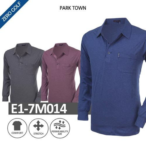 [PARK TOWN] 파크타운 무지 기본 PK 긴팔셔츠 Model No_E1-7M014