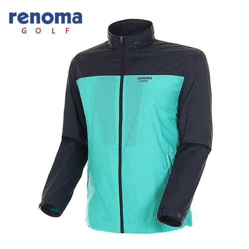 [레노마골프]남성 컬러 블럭 바람막이 집업 점퍼 RAWJ01511-MT