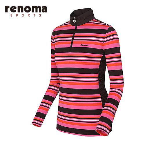 [레노마골프]여성 멀티 스트라이프 티셔츠 RATS5C511-PK