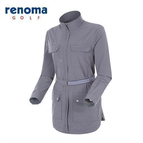 [레노마골프]여성 스트레치 벨티드 셔츠형 점퍼 RAJP54511-DG