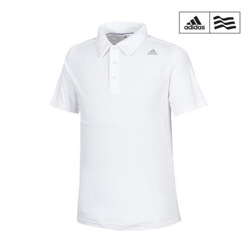 [아디다스골프] 남성 엑스 배색 카라반팔 티셔츠 B87340_GA