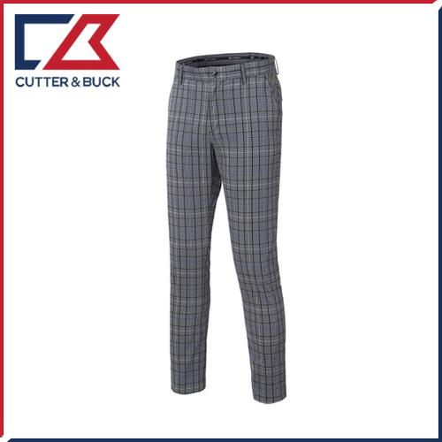 커터앤벅 남성 노턱 스판 체크무늬 기능성 골프바지/팬츠- SL-11-172-104-24