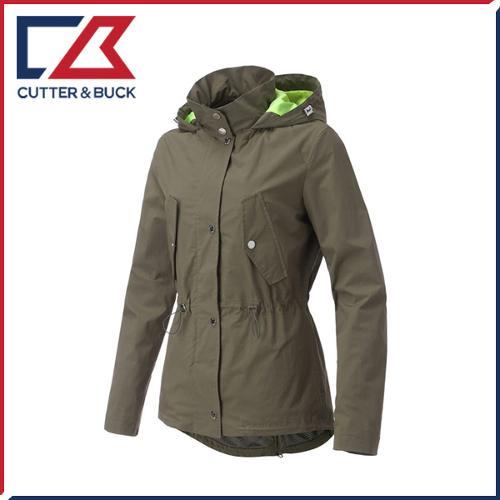 커터앤벅 여성 형광 배색포인트 후드 자켓/점퍼 - SL-12-171-206-52